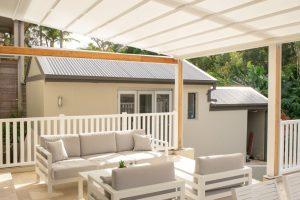 Retractable Roof Over Deck