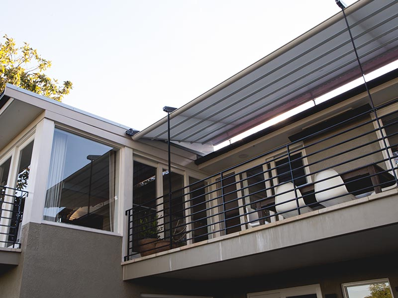 Liberty Retractable Roof over Deck