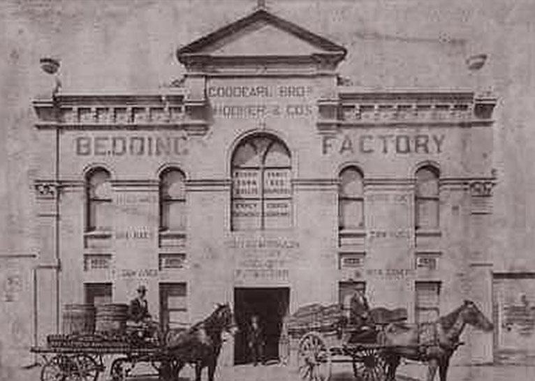 old Goodearls family factory in Sydney for blinds and awnings