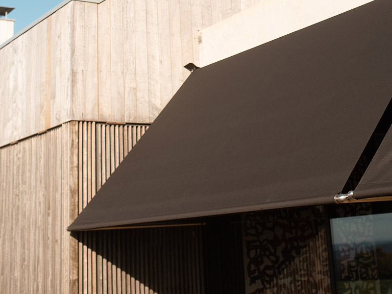 Drop arm, pivot arm awnings Sydney for sun protection