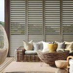 External Aluminium shutters or louvres block out sun and rain