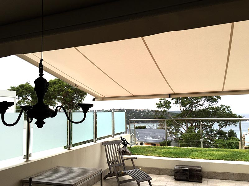 Retractable folding arm awning BX270 Sydney