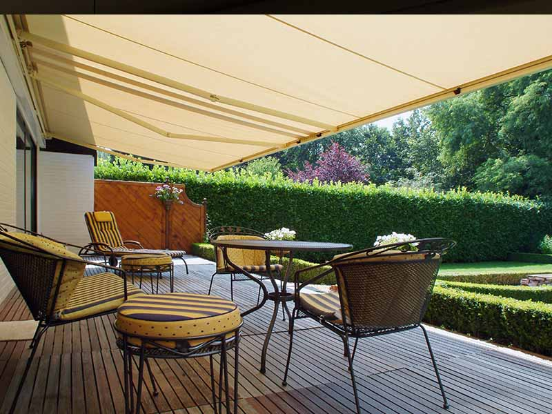 Folding Arm Awning retractable Sydney