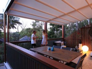 timber pergola frame for all weather retractable awning