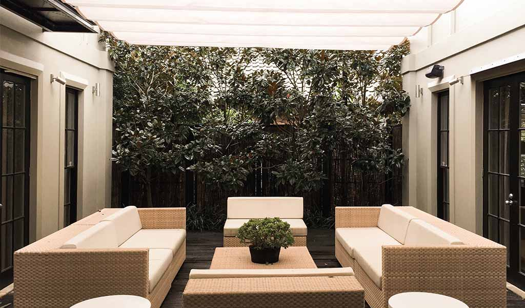 Retractable awnings, retractable roofs and blinds in Paddington for weather protection