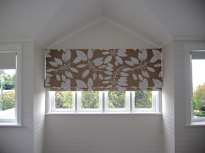 Internal roller blinds with Ink & Spindle fabric