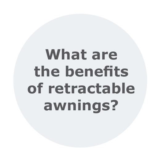 What are the benefits of retractable awnings in Sydney