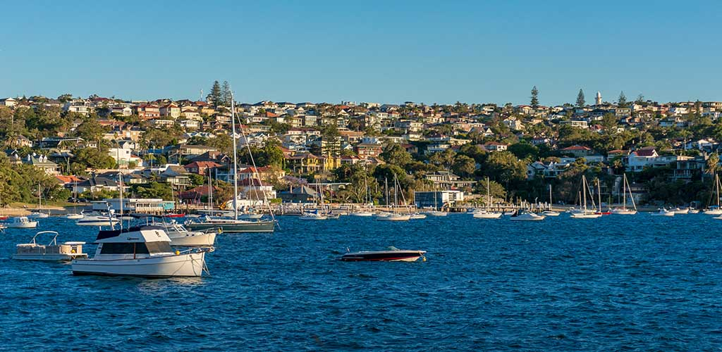 Harbour side presigious Sydney suburb of Vaucluse
